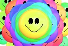 Smajlík barevný vtipy