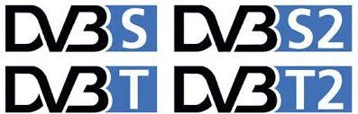 Loga digitálních TV DVB vysílání