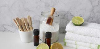 Babské rady - olej limetky soda ručníky
