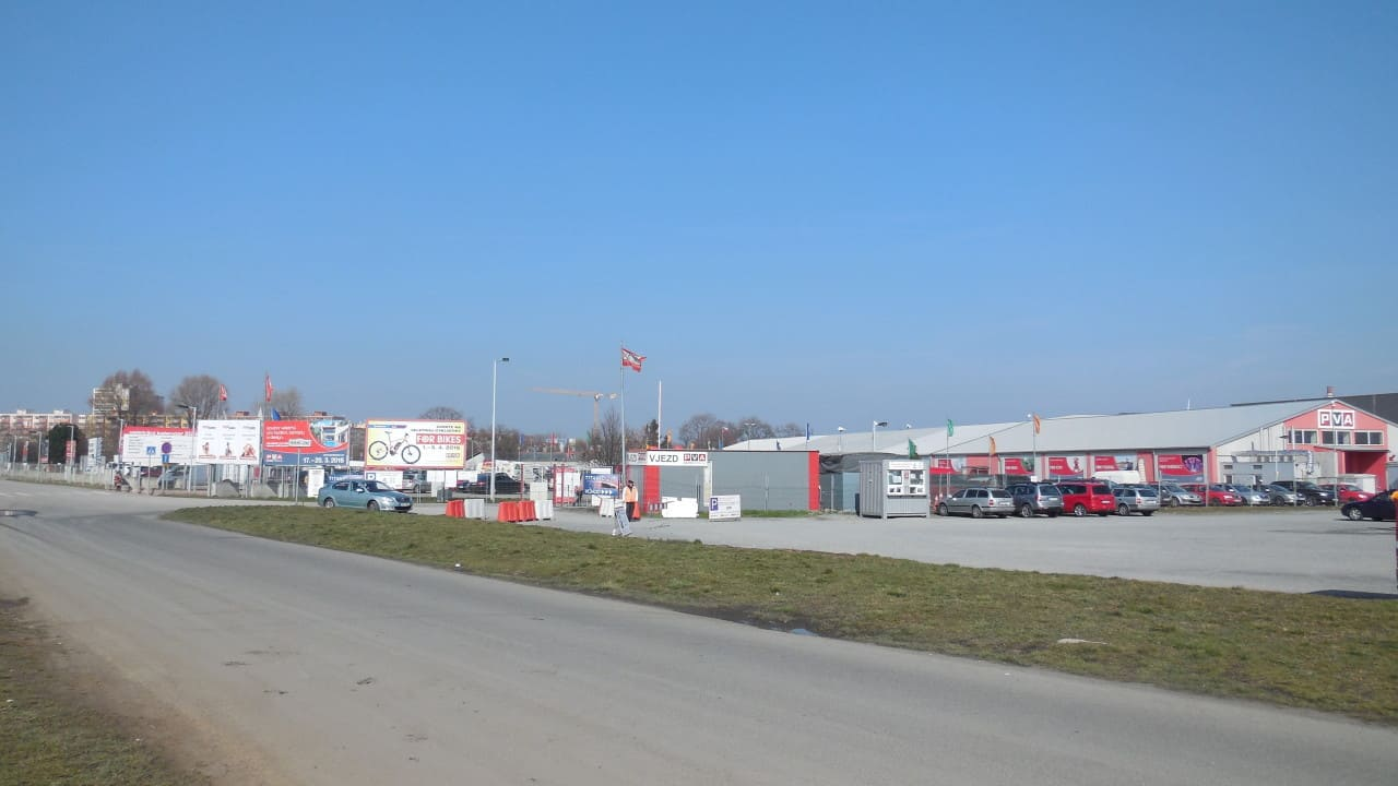 Výstaviště Letňany - celkový pohled 18.3.2016