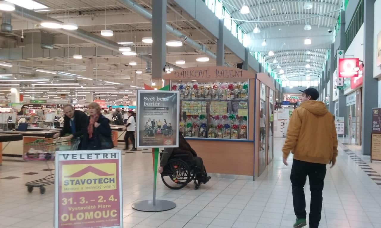 STAVOTECH Olomouc propagace v OC