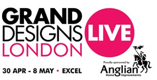 Grand Designs Live London 2016 logo