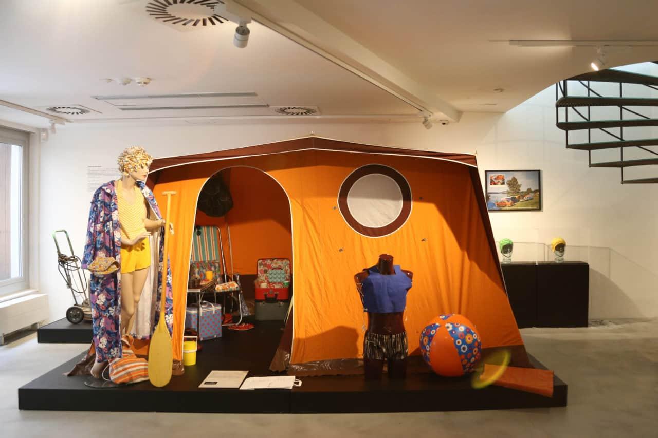 Výstava RETRO - stanování, turistika, chatařství