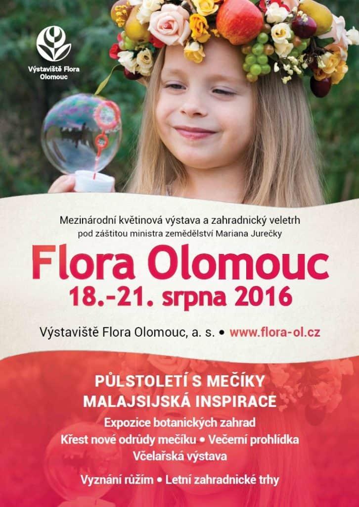 Letní Flora Olomouc 2016 - plakátek