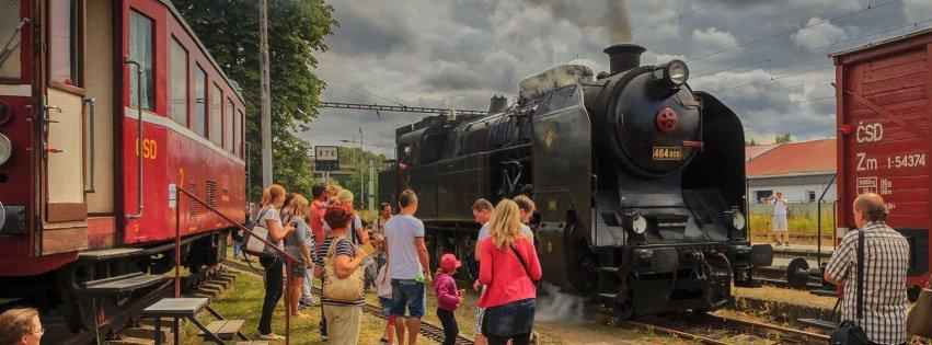 Muzeum železnice a MHD Rosice nad Labem - akce