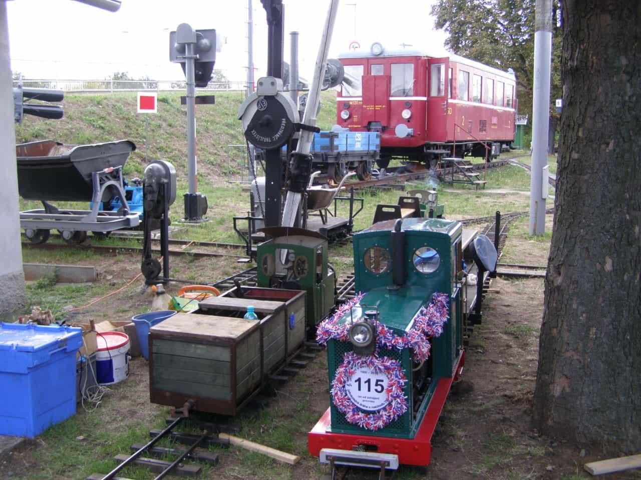 Setkání zahradních železnic muzeum Rosice u Pardubic 01
