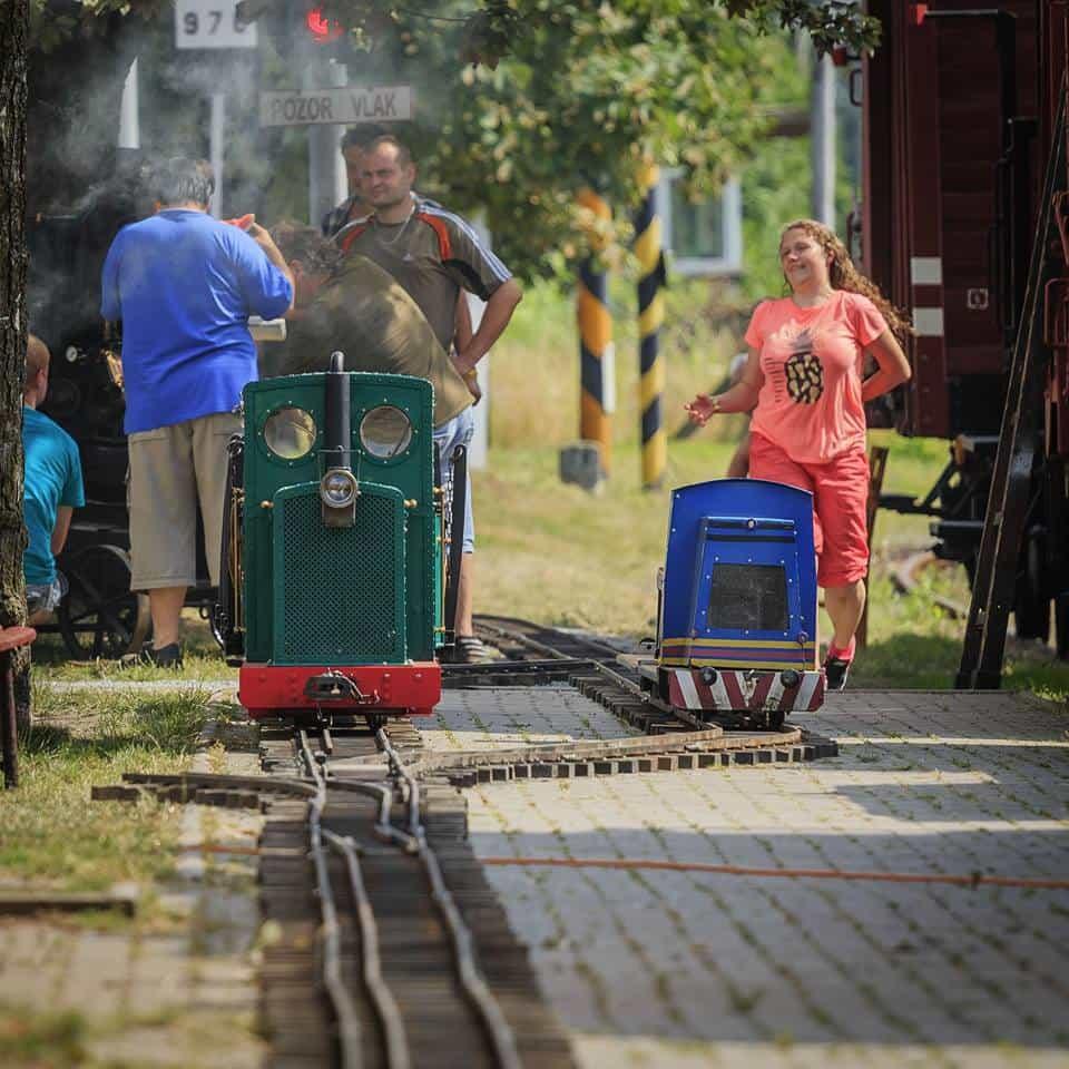Setkání zahradních železnic muzeum Rosice u Pardubic 05