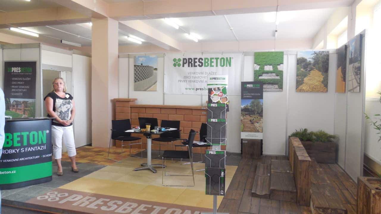 21. stavební výstava Pardubice - podzim 2016 - interiér Presbeton 01