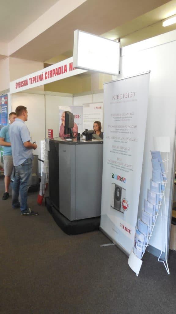 21. stavební výstava Pardubice - podzim 2016 - interiér - NIBE