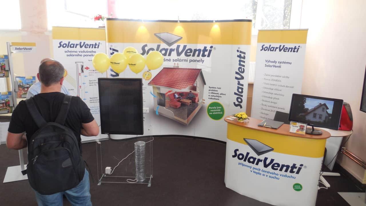 21. stavební výstava Pardubice - podzim 2016 - interiér - Solar Venti