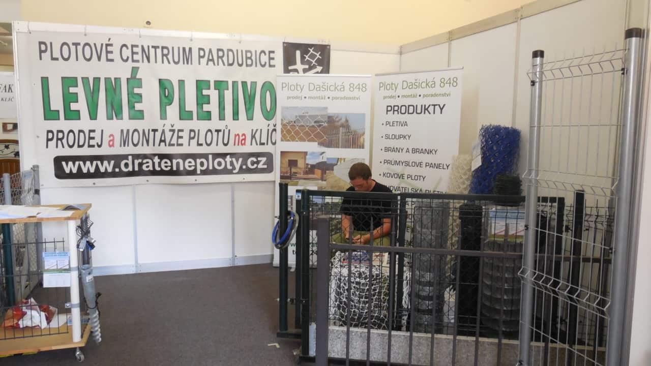 21. stavební výstava Pardubice - podzim 2016 - interiér - Levné pletivo