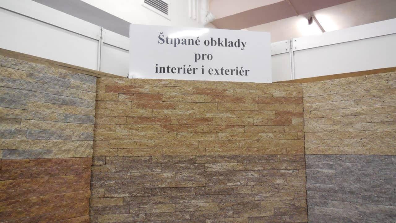 21. stavební výstava Pardubice - podzim 2016 - interiér - štípané obklady 01