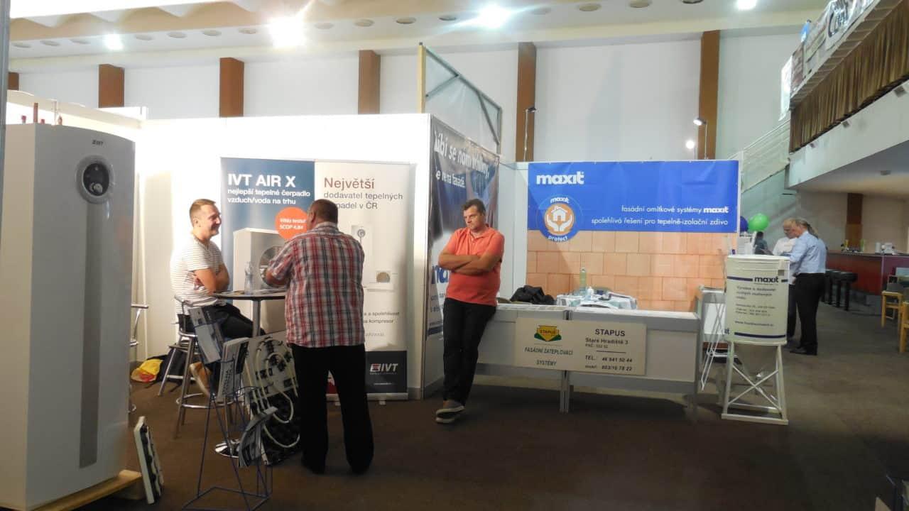 21. stavební výstava Pardubice - podzim 2016 - interiér - IVT a MAXIT 01