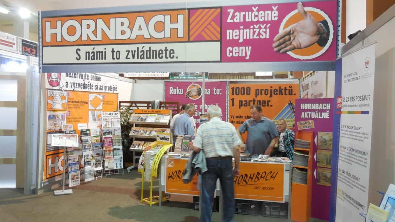 21. stavební výstava Pardubice - podzim 2016 - interiér - HORNBACH