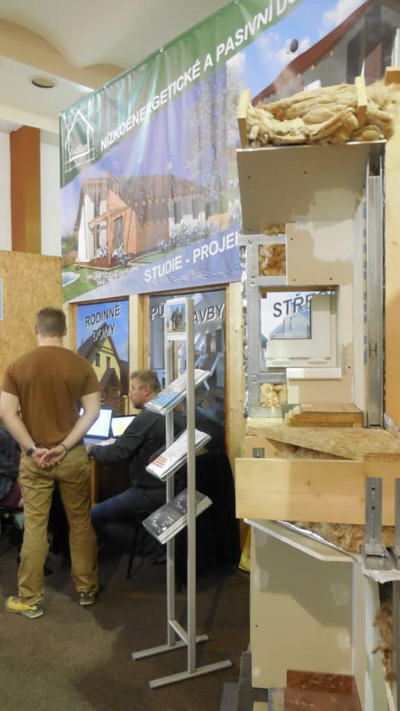 21. stavební výstava Pardubice - podzim 2016 - interiér - dřevostavby