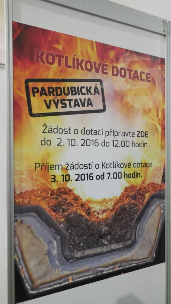 21. stavební výstava Pardubice - podzim 2016 - interiér - Kotlíkové dotace