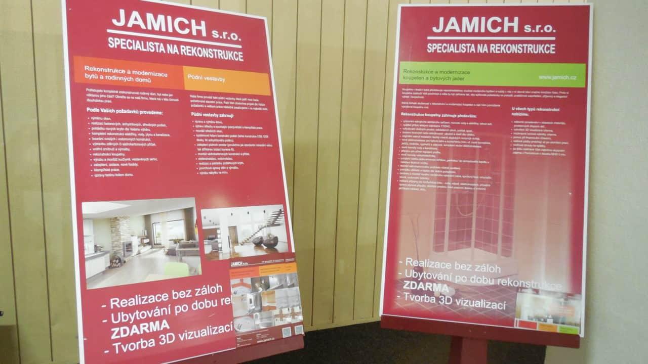 21. stavební výstava Pardubice - podzim 2016 - interiér - Jamich