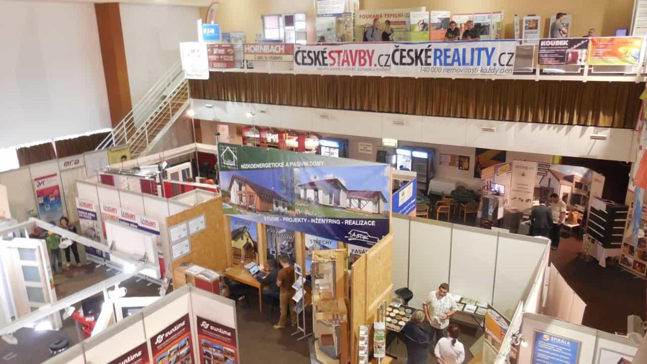 21. stavební výstava Pardubice - podzim 2016 - interiér - hala 03
