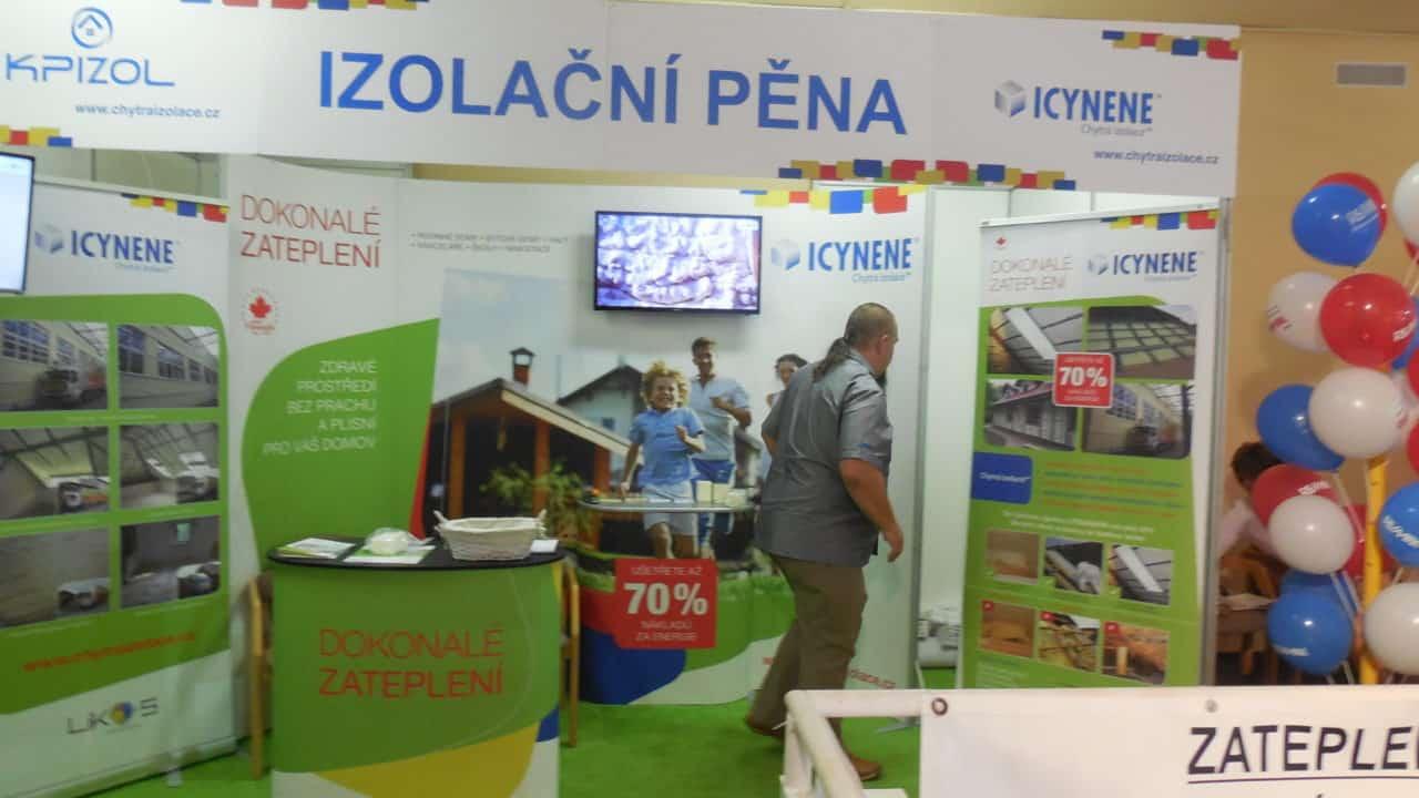 21. stavební výstava Pardubice - podzim 2016 - interiér - KPIZOL