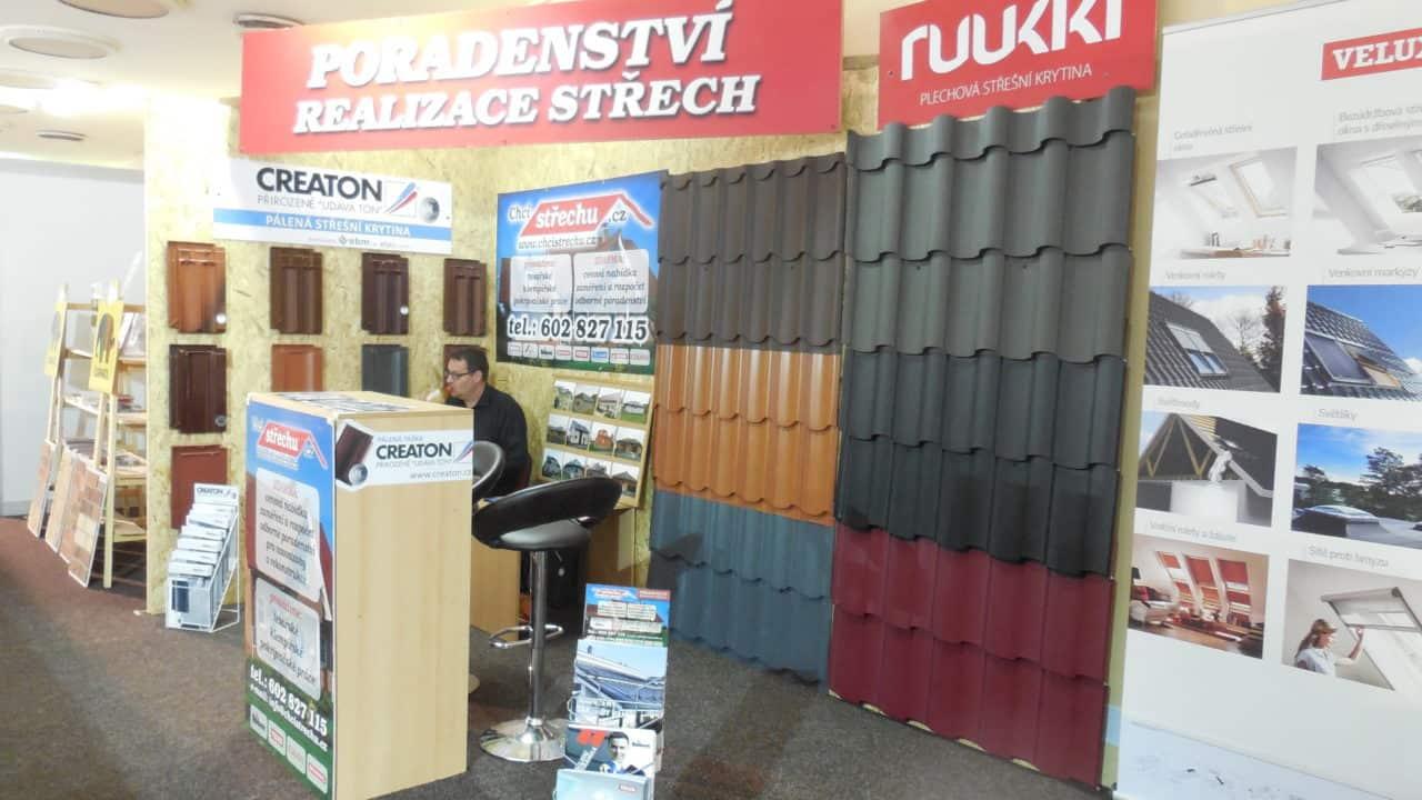21. stavební výstava Pardubice - podzim 2016 - interiér - Poradenství střech a Ruuki