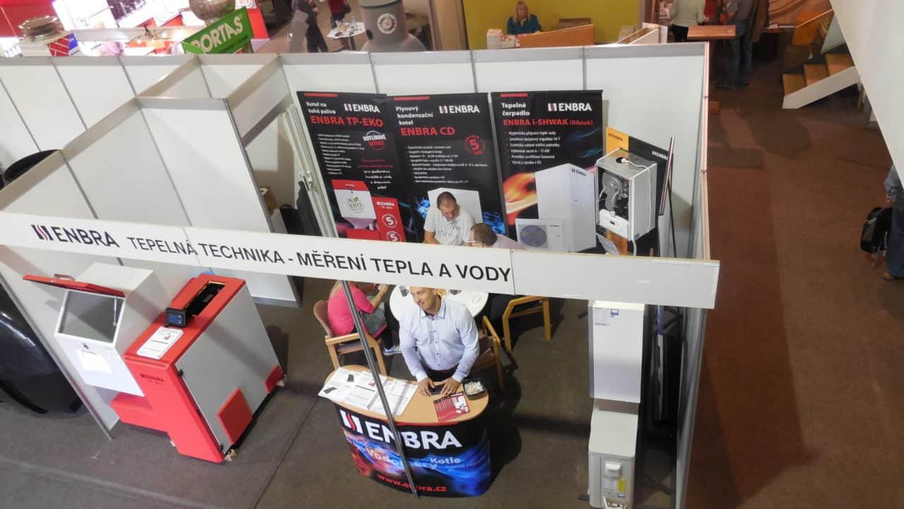 21. stavební výstava Pardubice - podzim 2016 - interiér - ENBRA