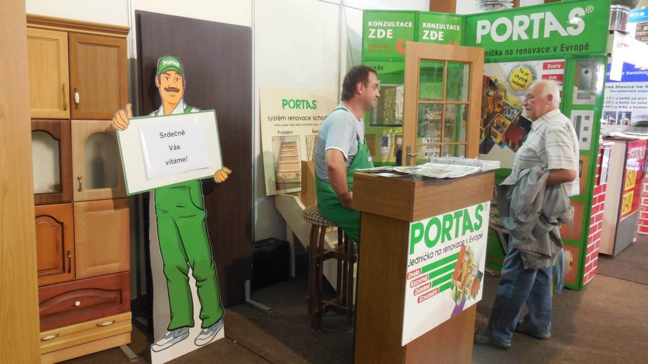 21. stavební výstava Pardubice - podzim 2016 - interiér - PORTAS