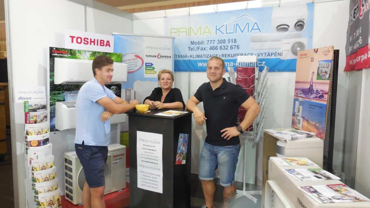 21. stavební výstava Pardubice - podzim 2016 - interiér - PRIMA KLIMA