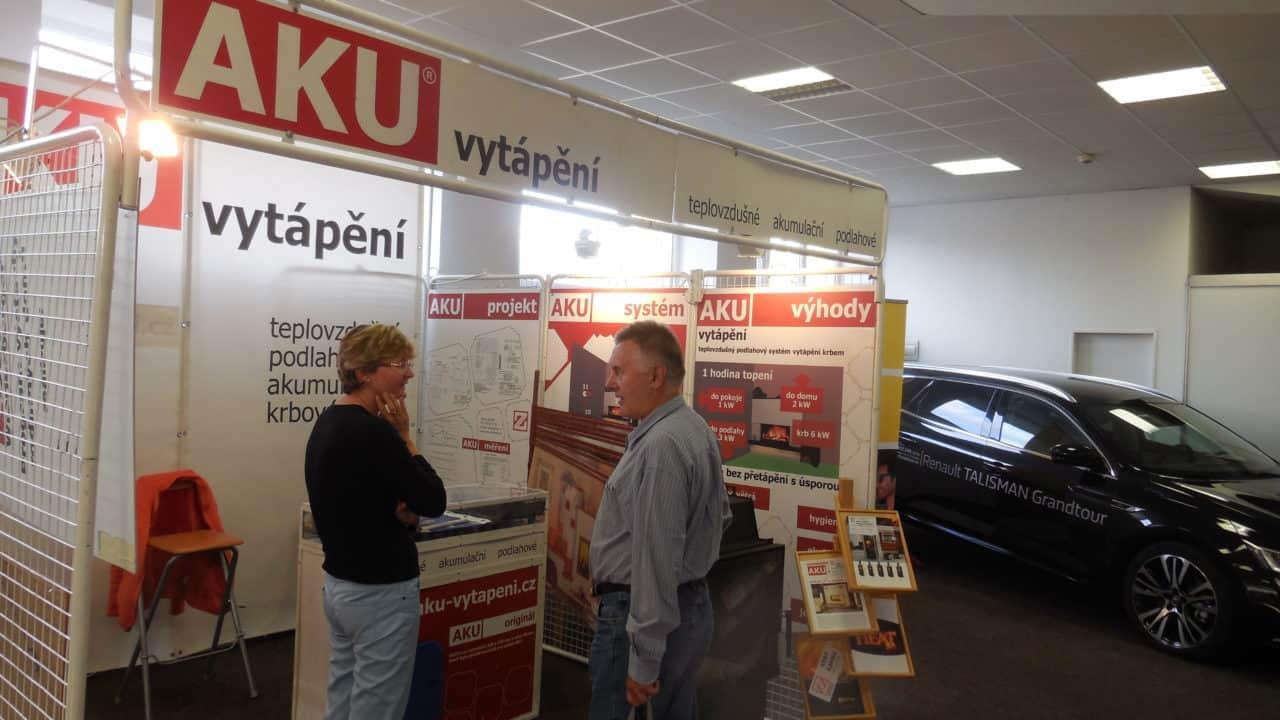 21. stavební výstava Pardubice - podzim 2016 - interiér - AKU vytápění