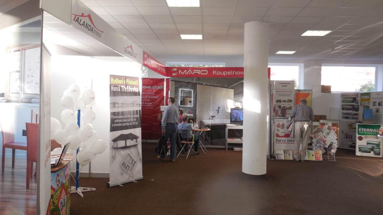 21. stavební výstava Pardubice - podzim 2016 - interiér - Talanda Invest a MARO