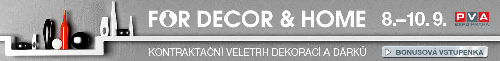 FOR DECOR & HOME banner 8-10.9.2016