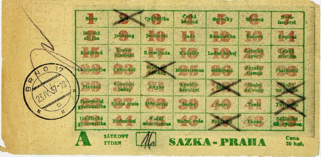 Sázenka 1957