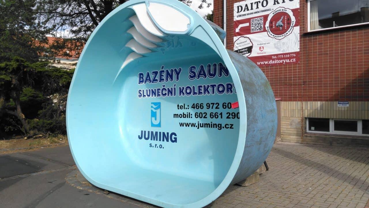 21. stavební výstava Pardubice - podzim 2016 - exteriér JUMING