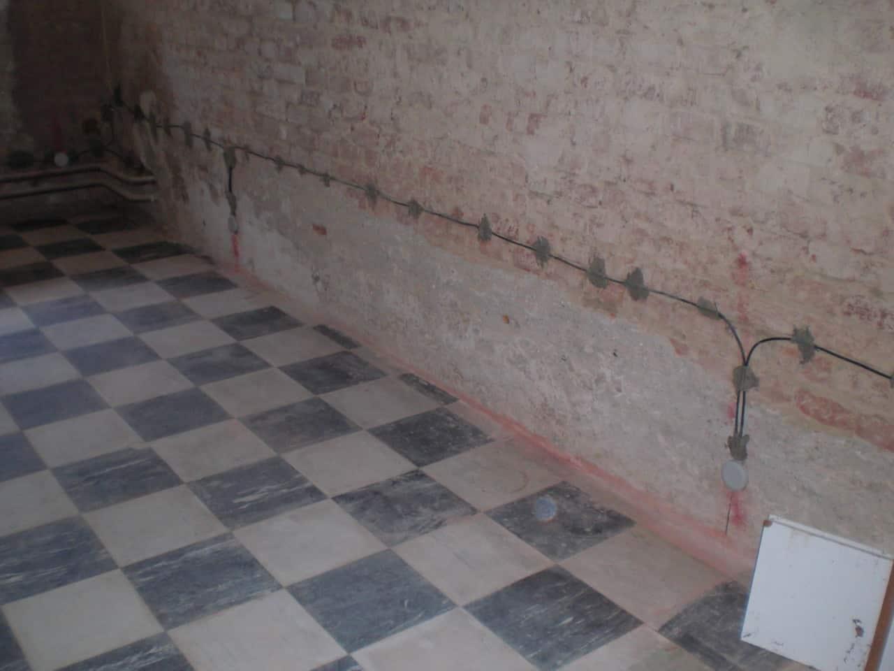 Drymat - elektroosmóza