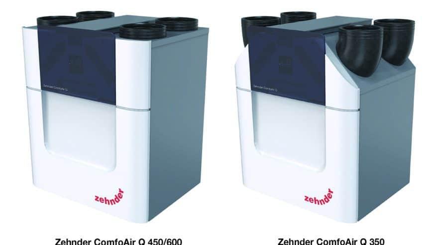 Nová generace větracích jednotek Zehnder ComfoAir Q