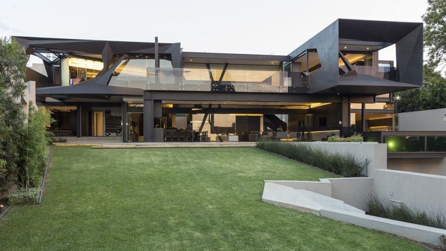 Exkluzivní architektura – Kloof Road House vJAR