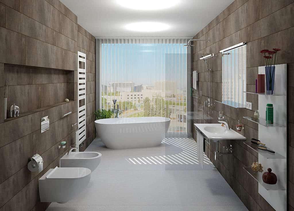 b2b299b75a4 20 nejlepších návrhů inspirací pro koupelny s radiátory Zehnder
