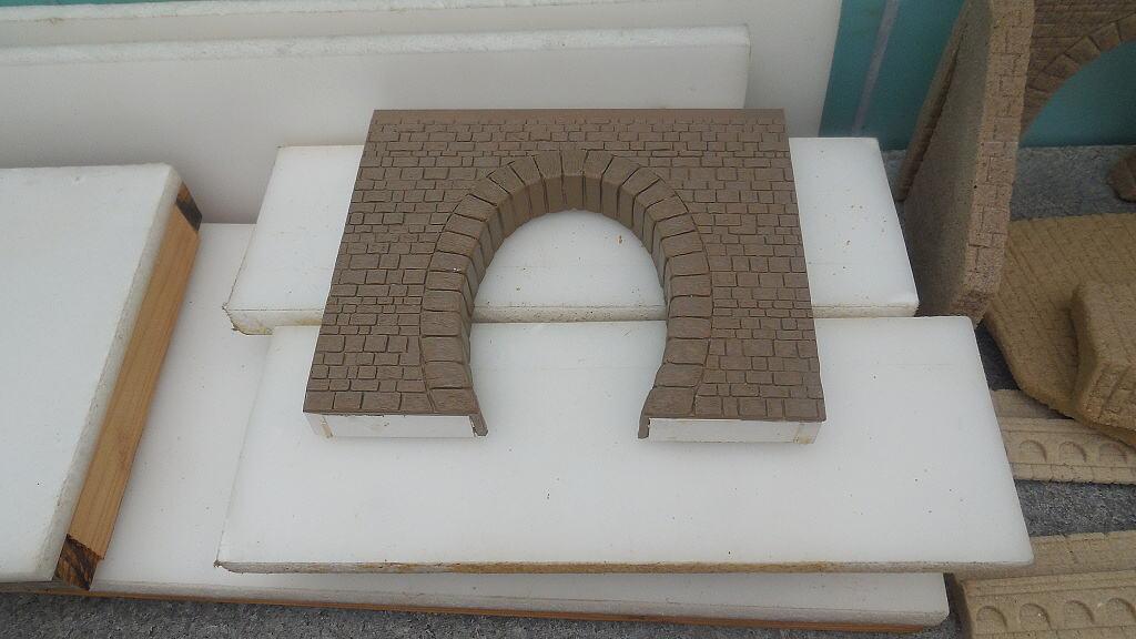 Rozpracované části tunelů