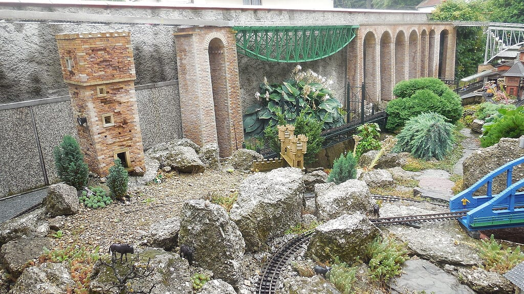 Zahradní železnice středních Čech - Na návštěvě u manželů Vítovských