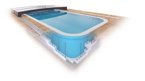 Pasivní bazén? SALBISTONE G2 je to možné!