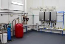 Kaskádová plynová kotelna - Thermona