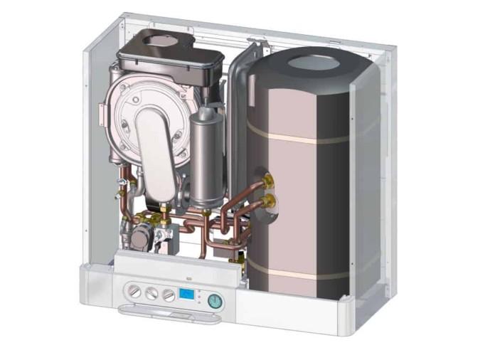 Kotel Therm výrobce Thermona s intewgrovaným zásobníkem TUV