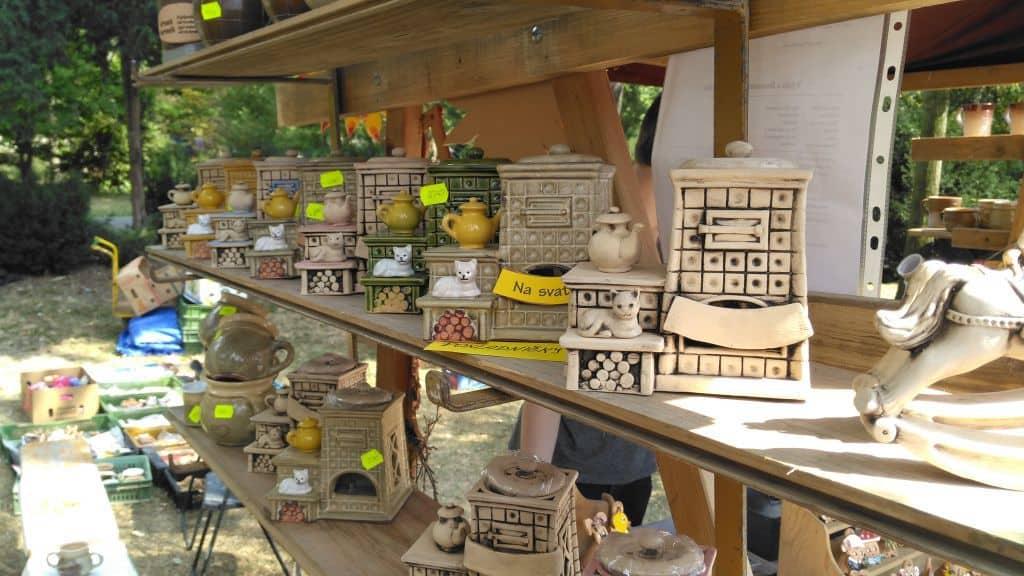 Letní Flora Olomouc 2018  - zahradnické  trhy, doplňkový prodej, keramika