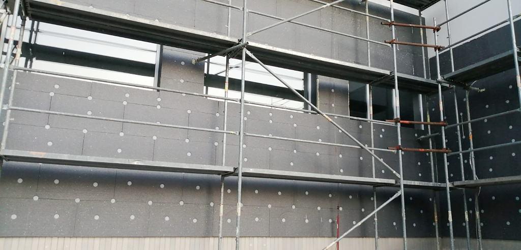 Zateplení šedým polystyrenem