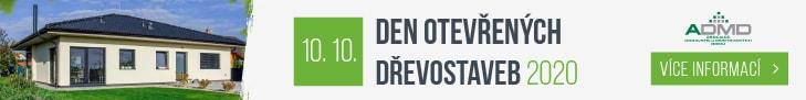 Den otevřených dřevostaveb 2020 - banner