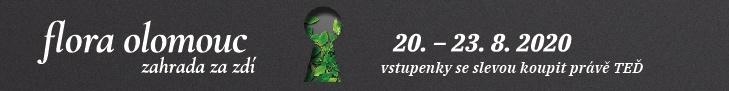 Letní Flora Olomouc 2020 - banner