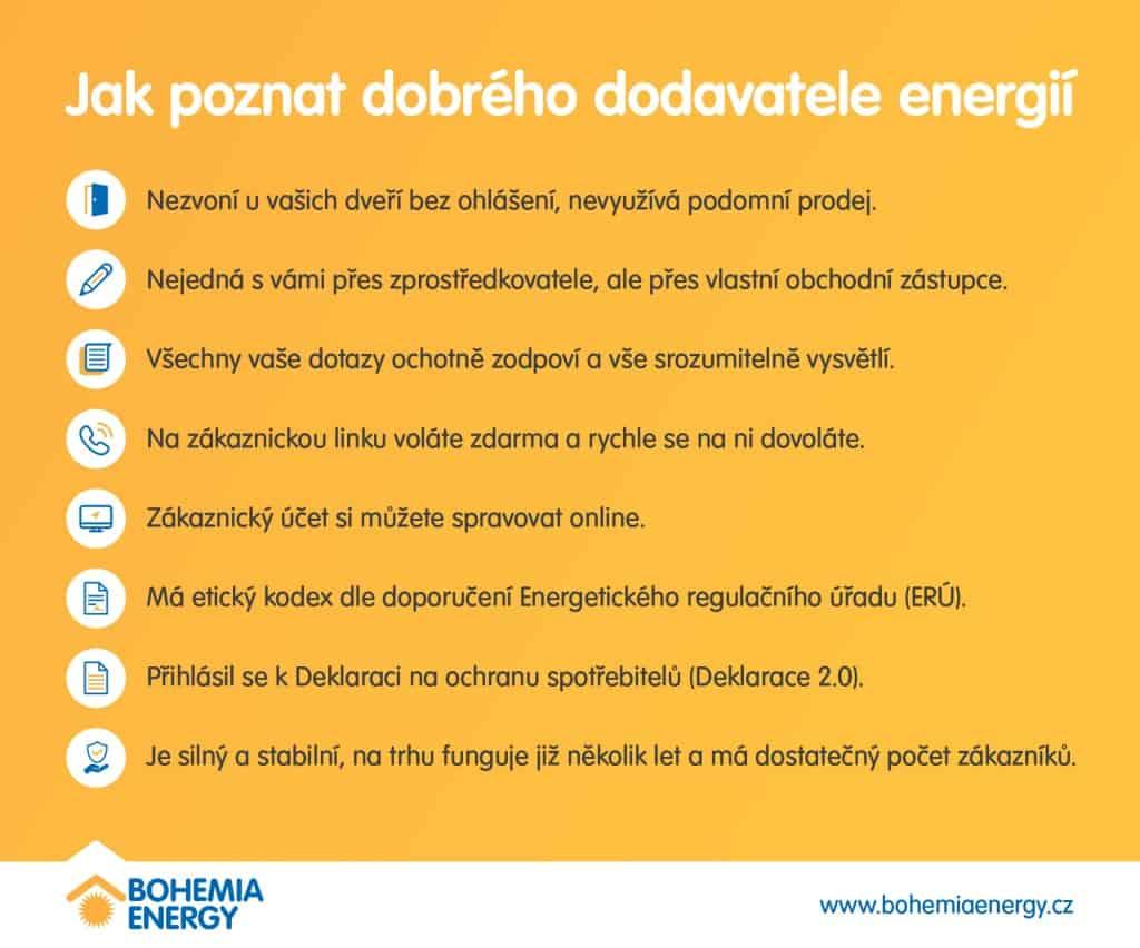 Jak poznat dobrého dodavatele energí