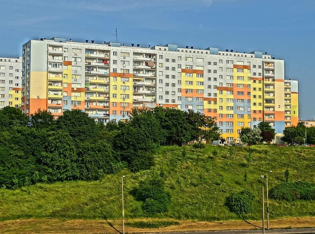 Bytový panelový dům Wyzyny