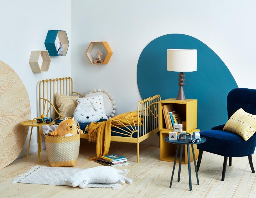Balakryl - akcentové barvy v dětském pokoji
