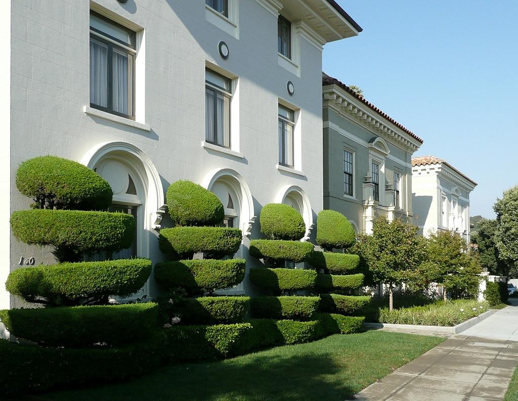 Dům se zelení