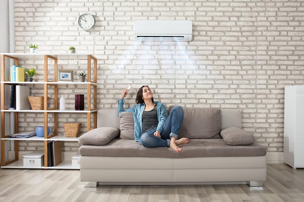Klimatizace v bytě - EnergieČS - ilustrační foto klimatizace